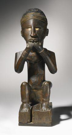 Kongo-Yombe Power Figure, Democratic Republic of the Congo | lot | Sotheby's