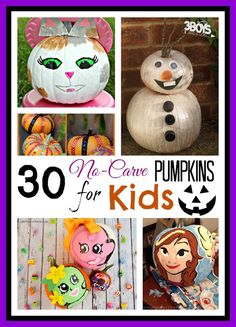 30 No-Carve Pumpkin Crafts for Kids