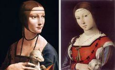 In Isabella d'Este borrowed the painted portrait by Leonardo da Vinci… Renaissance, Italian Painters, Indian Paintings, Ancestry, Traditional Art, Genealogy, The Borrowers, Medieval, History