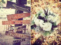 BridalHood: Real Wedding: Caitlin and Josh's Dreamy DIY Enchanted Forest Wedding