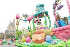 東京ディズニーランド,ディズニーイースター,2015年,パレード,ミニーマウス,クラリス