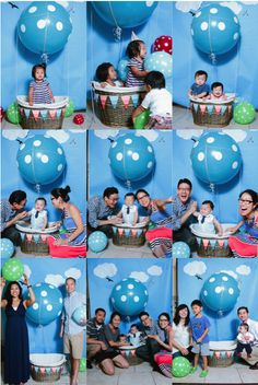 hot air balloon photo booth - Google Search