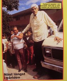 Felipe Birriel Fernández - The tallest man Puerto Rica Puerto Rico Pictures, In This World, Japon Tokyo, Puerto Rico Food, Puerto Rico History, Puerto Rican Culture, Puerto Rican Recipes, Puerto Ricans, Women In History