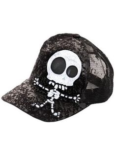 8379afe83aac8 Couch - Little Twisted Nu Skelly Trucker Cap
