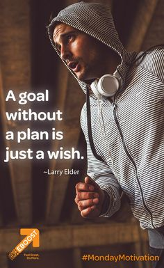 """A goal without a plan is just a wish. Inspiration For The Day, Fitness Inspiration, Healthy Energy Drinks, Pre Workout Supplement, Monday Motivation, Larry, Wish, Goals, How To Plan"