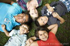 Fun Angle for Group Photo