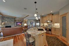 The Cottonwood - Customized Ramblers Home Design, Build New Home Mn, Minneapolis Custom Homes, Rambler Floor Plan