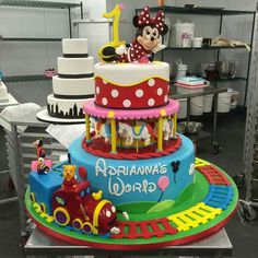 Buddy Valastro Facebook post 2/28/15: Cake made by Buddy & son.