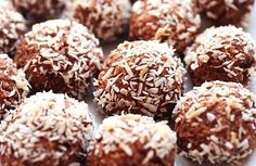 "Cocoa Coconut Balls or in Swedish, ""Neger Boller"""