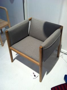 side chair with pockets