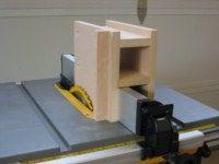 A tenoning jig for the Dewalt DW745 portable table saw   Julien Lecomte's Blog