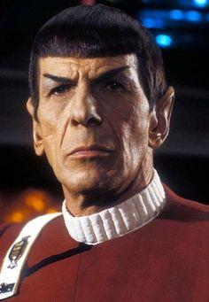 Captain Spock .