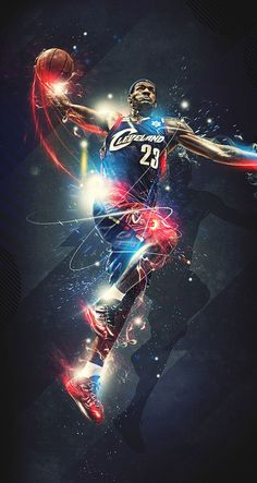 Started at cleveland, but wanted a ring so he moved to heat a smart man and now a two time mvp I love lebron!