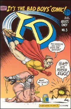 It's The Bad Boys' Comic! / Id #3 / 2nd edition / June 1995 / Fantagraphics Books http://freudquotes.blogspot.com/