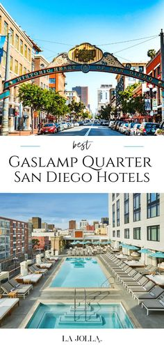 My top picks for San Diego Gaslamp hotels in the historic downtown area in all price ranges from big brands like Marriott to boutique. Get all the details here from La Jolla Mom San Diego Gaslamp, La Jolla San Diego, San Diego Hotels, Kimpton Hotels, Haunted Hotel, Rooftop Pool, Night Life