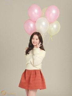 Kim Ji Won Spring Pictorial, Descendants of the Sun