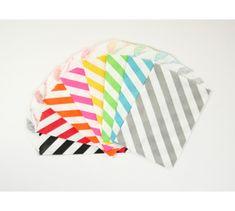 Diagonal Stripe Little Bitty Bags
