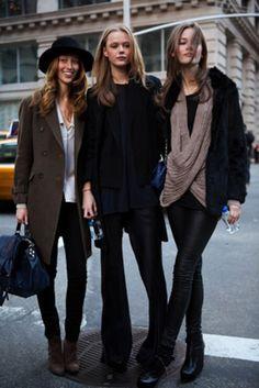 French Voguettes tomboy chic street style #minimalist #fashion