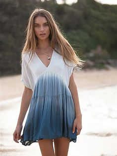 summer outfits White Tie Dye Dress in 2019 Summer Outfits, Cute Outfits, Girly Outfits, Boho Fashion, Womens Fashion, Tie Dye Fashion, Fashion Outfits, Fashion Clothes, Bohemian Mode
