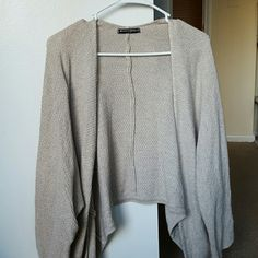 Brandy Melville Sweater Oatmeal colored. Never worn. Washed once and hung to dry. No rips, snags, or pulled threads. Perfect condition. Brandy Melville Sweaters Cardigans