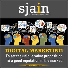 Sjain Ventures Effortlessly help your ‪#‎brand‬ spread the confident and assured benefit statement about the product, to set the unique value proposition and a good reputation in the market. For any assistance call us today-7583837700  ‪#‎DigitalMarketing‬
