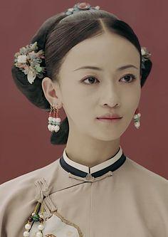 Chinese Style, Chinese Fashion, Chinese Art, Japanese Calligraphy, Wedding Tattoos, Ancient China, Qing Dynasty, Costume Dress, Botanical Illustration