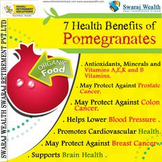 7 Health Benefits of Pomegranates