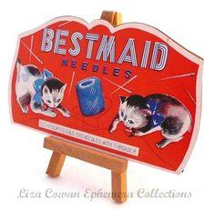 Bestmaid needles. Liza Cowan Ephemera Collections., via Flickr.