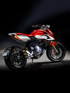 MV Agusta Rivale Official Sketch