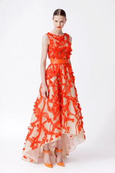 Monique Lhuillier Resort 2013! one of my fav dresses and ginny goodwin wore it and looked amazing in it as always!!