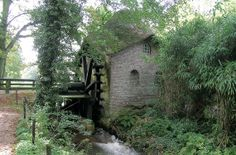 Flour mill, Rosmolen, Geysteren, the Netherlands.
