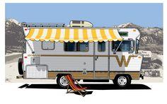 Winnebago Bus Motorhome RV Camper Van