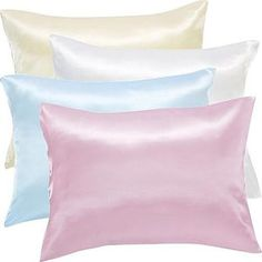 Satin Pillow Case reduces wrinkles and lines