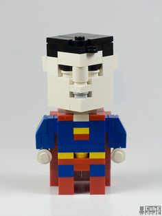 """CubeDude Bizzaro An imperfect duplicate of Superman created by Lex Luthor. Using a stolen strand of Superman's DNA, Luthor developed his own """"Superman"""", by dialing 555-LEXX, a person in trouble could have one of Luthor's guardians rescue fly to their aid anytime of the day or night - for a price. Unfortunately for Lex, it didn't work. The cloning process was unstable and the Superman clone mutated into a grotesque parody of the Man of Steel"""