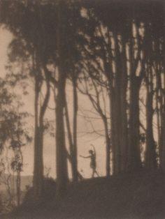 Arthur F. Kales. Dancing nymph 1917