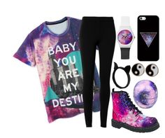 """""""Untitled #532"""" by smashitwithahammer ❤ liked on Polyvore featuring Max Studio, T.U.K., Casetify, Eos and Monsoon"""
