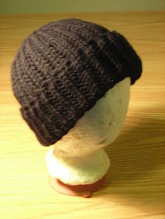 Knitting with Fire: Free Watch Cap Hat Pattern