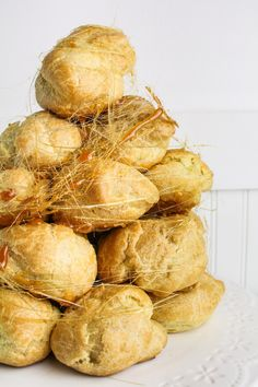 Peanut Butter Croquembouche {Katie at the Kitchen Door}