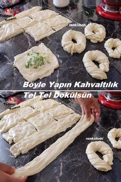 Pasta Recipes, Appetizer Recipes, Bread Recipes, Appetizers, Cooking Recipes, Turkish Delight, Turkish Recipes, Culinary Arts, Scones
