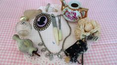 Vintage Inspiration Kit  Keepsakes Treasures by CaitlandStudio