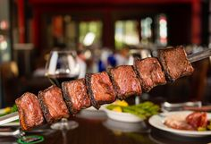 Garlic Picanha from Texas de Brazil Churros, Brazilian Bbq, Brazilian Steakhouse, Las Vegas Restaurants, Meat Recipes, Cravings, Yummy Food, Dining, Garlic