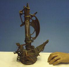 SPELTER (THERMOMETER) Nautical (La Fortun) Reaumur & Centigrade (C1910) Working | eBay