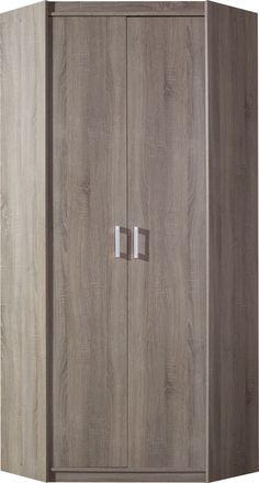 Rohová skříň MEGA ME8 - Skříně a skříňky - Typy nábytku | Nábytek DAKA 4141 Armoire, Door Handles, Police, Doors, Furniture, Home Decor, Clothes Stand, Door Knobs, Decoration Home