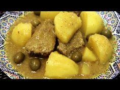 YouTube. Tagine ternera con patatas y aceitunas.