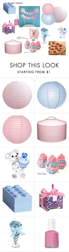 """Pantone 2016 Birthday Party"" by megmarg ❤ liked on Polyvore featuring interior, interiors, interior design, home, home decor, interior decorating, Cultural Intrigue, Kitchen Craft, Swarovski and Lego"