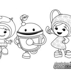 coloring page umizoomi coloring pages pinterest
