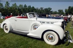 1938 Packard Super 8 Convertible Coupe