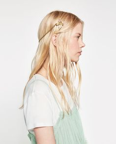 Image 4 of CHAIN AND BIRDS HAIRBAND from Zara