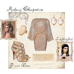 Modern Cleopatra: Prom Wear, created by trulygirlygirl on Polyvore