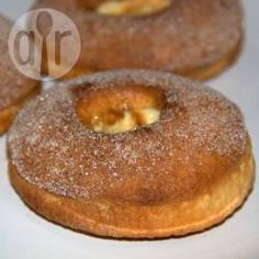 Cinnamon and Sugar Doughnuts Air Fryed @ allrecipes.com.au